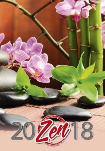 CRUX Kalendarz 2018 Wieloplanszowy Zen