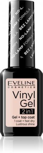 Eveline Vinyl Gel 2in1 Lakier do paznokci winylowy nr 202  12ml
