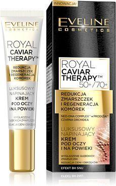 Eveline Royal Caviar Therapy Krem napinający pod oczy i powieki  15ml