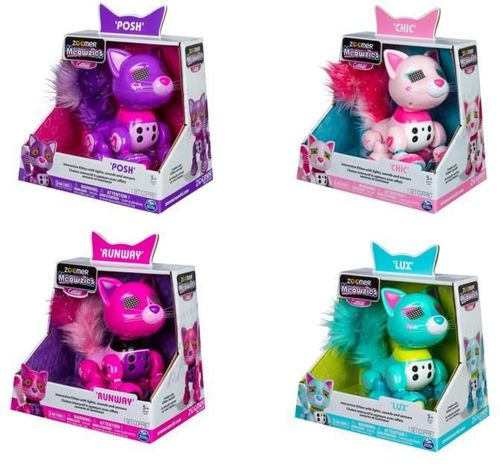Spin Master Zoomer Interaktywne kotki, różne rodzaje (253782)