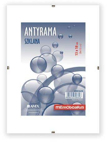 Ramka Memoboards Antyrama szklana A4 (ANS21X29,7)