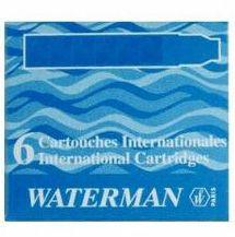 Waterman Naboje Inter do piór, niebieskie (S0110950)