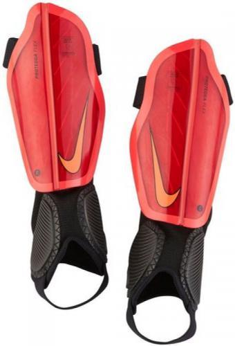 Nike Ochraniacze piłkarskie Protegga Flex Jr czerwone r. M (SP0314-658)