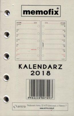 Antra Wkład kalendarzowy 2018