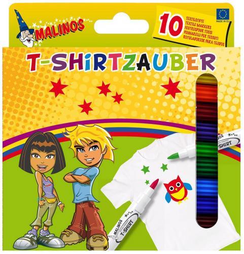 Malinos Textilstifte 10 Textilfarben