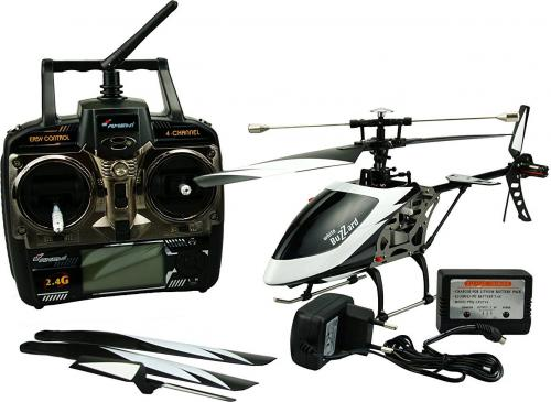 AMEWI Helikopter RC z pilotem LCD (25137)