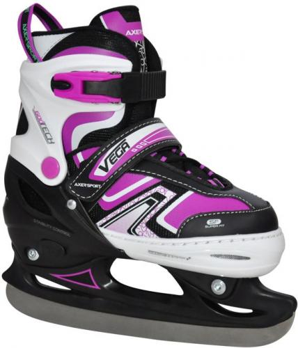 Axer Łyżwy damskie Adjustable Ice Skates Vega r. L (39-42)