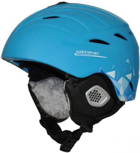 Axer Kask Helmet Peak Niebieski r. S