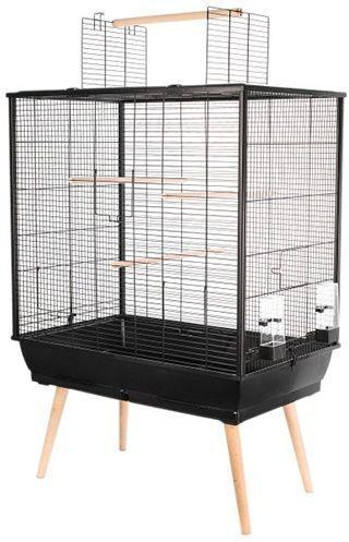 Zolux Klatka dla ptaków Neo Jili H80 czarna