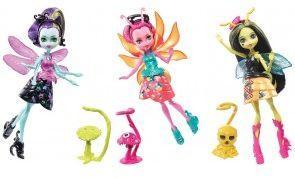 Mattel  Monster High. Skrzydlate upiorki - mała lalka  (FCV47)