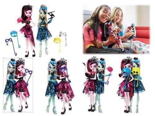 Mattel  Monster High. Lalka + akcesoria  (DNX32)