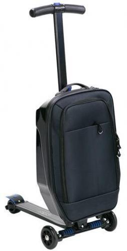 NILS Extreme Hulajnoga z walizką HTF02 czarna