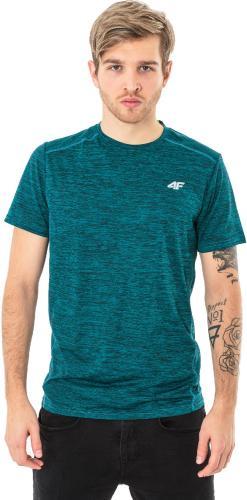 4f Koszulka męska H4L18-TSMF009 zielona r. M