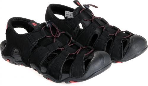 4f Sandały męskie H4L18-SAM003 czarne r. 45