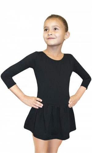 Gwinner Bodysuit Girls 3/ Sleeve Leotard With Skirt r. 134
