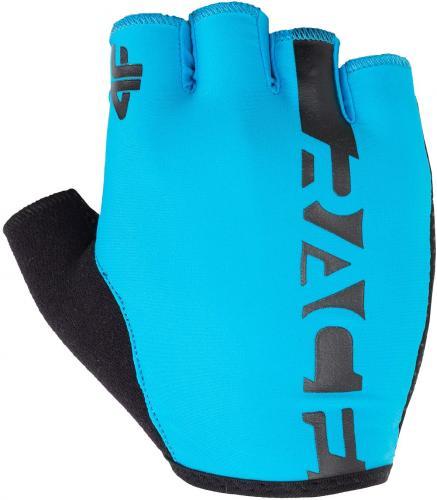 4f Rękawiczki rowerowe H4L18-RRU005 niebieskie r. M