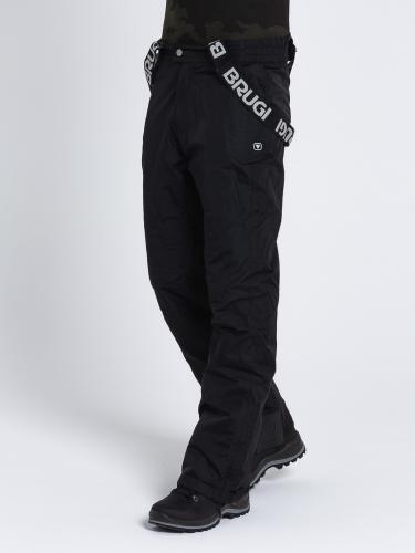 Brugi Spodnie narciarskie  męskie 4AIW-500 Nero r. XXL