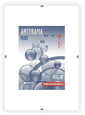 Ramka Memoboards ANTYRAMA PLEXI 21x29,7 A4 (ANP21X29,7 MB)