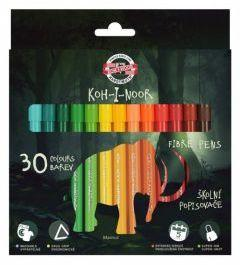 Koh-I-Noor Flamastry Dino 30 kolorów (254228)