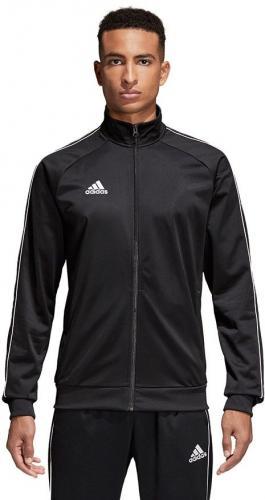 Adidas Bluza męska CORE 18 PES JKT czarna r. L (CE9053)