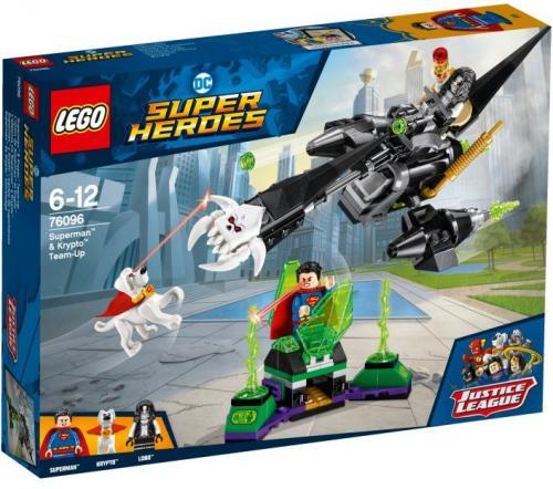 LEGO SUPER HEROES Superman i Krypto łączą siły (LG76096)