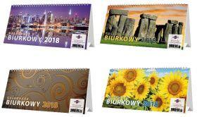 Avanti Kalendarz biurkowy poprzeczny 2018 KBP (WIKR-1062353)