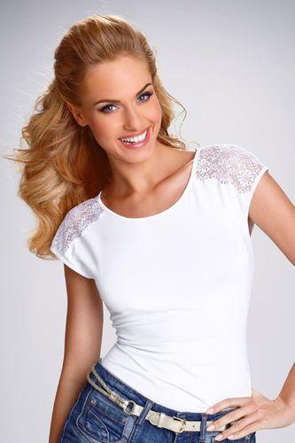 Eldar Koszulka tosca biała r. XL