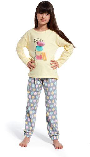 Cornette piżama  time to rest żółty  r. 110/116 (972/83)