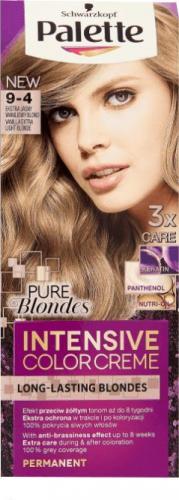 Schwarzkopf Farba Palette Intensive Color Creme nr 9-4 Ekstra Jasny Waniliowy Blond