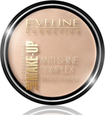 Eveline Art Professional Make-up matujący puder mineralny prasowany 37 Warm Beige 14g