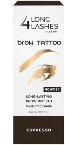 Long 4 lashes  Preparat żelowy do brwi Brow Tattoo24H Espresso 8ml