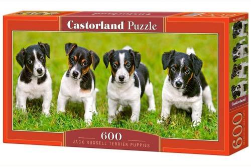 Castorland Puzzle 600 Jack Russel terrier puppies (266692)
