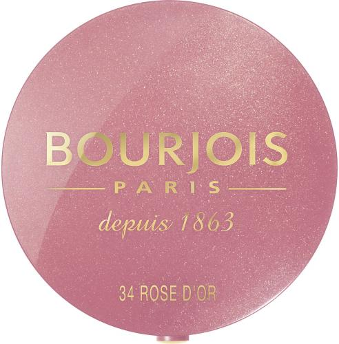 BOURJOIS Paris Little Round Pot Blusher róż do policzków 34 Rose d'Or  2.5g