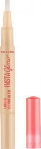 Miss Sporty  Insta Glow Liquid Concealer korektor rozświetlający do twarzy 001 Radiant Light 1.36ml