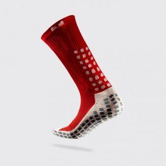 Trusox Skarpety piłkarskie Trusox Thin S437523 czerwone r. 44-46