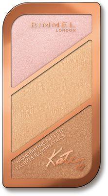 Rimmel  Paleta rozświetlaczy Bronzing Palette 18,5g