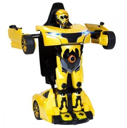 Rastar RS X MAN Transformer 1:14 2.4GHz RTR - Żółty (RAS/74700-YEL)