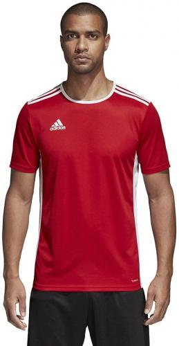 Adidas Koszulka męska Entrada 18 czerwona r. S (CF1038)