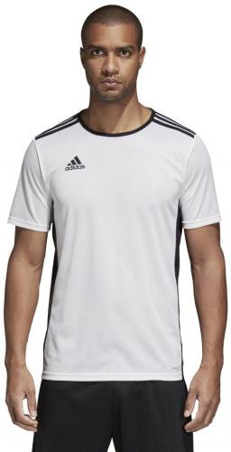 Adidas Koszulka piłkarska Entrada 18 JSY biała r. L  (CD8438)