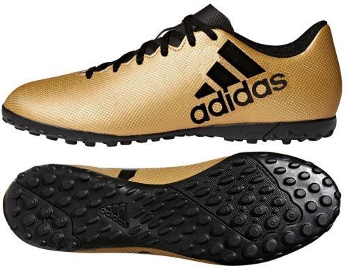 Adidas Buty piłkarskie X Tango 17.4 TF złote r. 45 1/3 (CP9146)