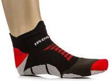 IRONMAN Skarpety Pro Running Low Black/Red r. 35-38