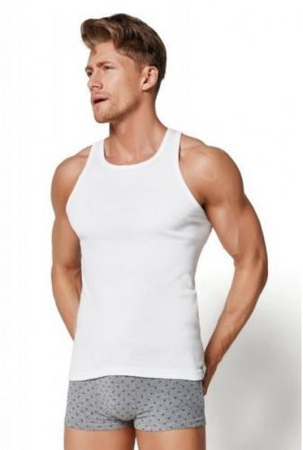 Esotiq & henderson Henderson koszulka 1480 biały r.L