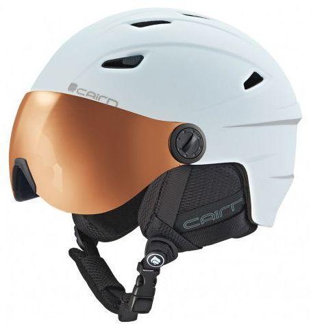 CAIRN Kask  narciarski Electron Visor Photochromic biały r. 55/56