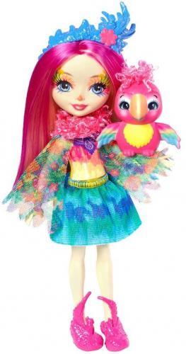 Mattel ENCHANTIMALS Peeki Parrot & Sheeny papuga FNH22/FJJ21