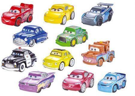Mattel Auta. Mikroauta w saszetce (267412) (mikro auta)