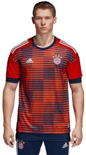 Adidas Koszulka piłkarska FCB H Preshi czerwona r. XXL (CF1580)