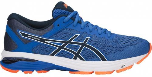Asics Buty męskie GT-1000 6 Victoria Blue/Dark Blue/Shocking Orange r. 46 (T7A4N-4549)