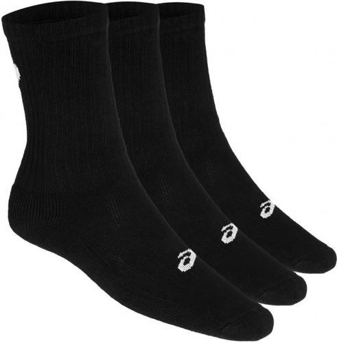 Asics Skarpety 3 Pack Crew Sock Black r. 43-46