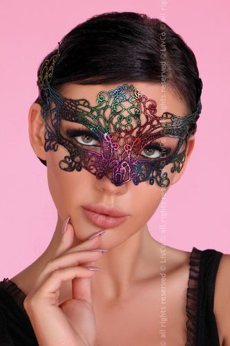 LivCo Corsetti Mask Rainbow - Uniwersalny - 45704
