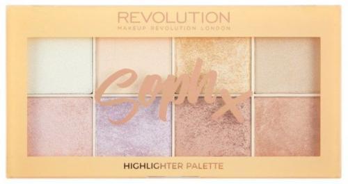 Makeup Revolution Zestaw rozświetlaczy  Soph Highlighter Palette